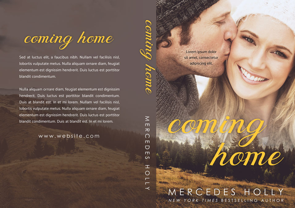 Coming Home - Winter Romance Premade Book Cover For Sale @ Beetiful Book Covers