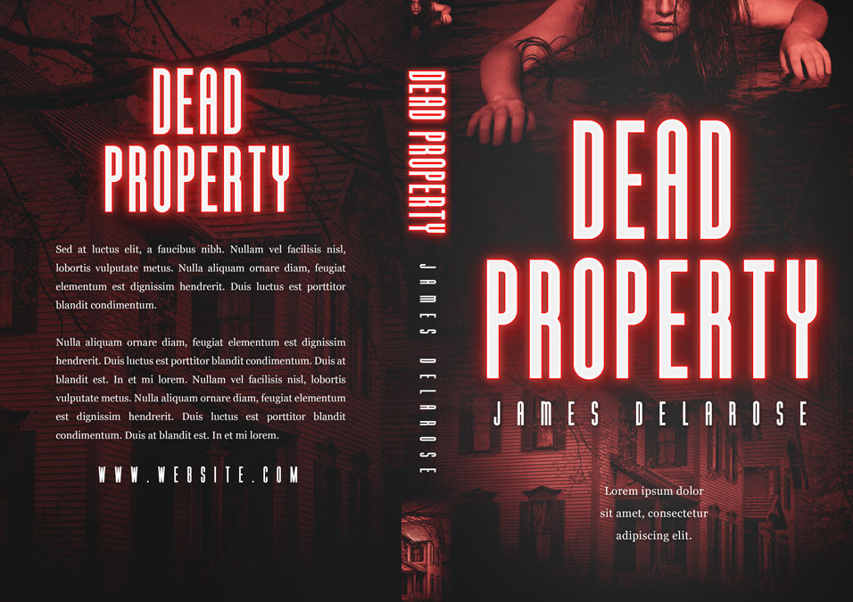 Dead Property - Horror Premade Book Cover For Sale @ Beetiful Book Covers