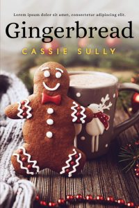 Gingerbread - Christmas Premade Book Cover For Sale @ Beetiful Book Covers