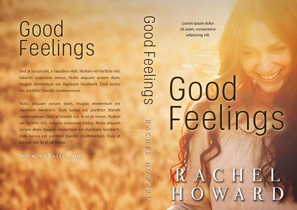 Good Feelings - Romance Premade Book Cover For Sale @ Beetiful Book Covers