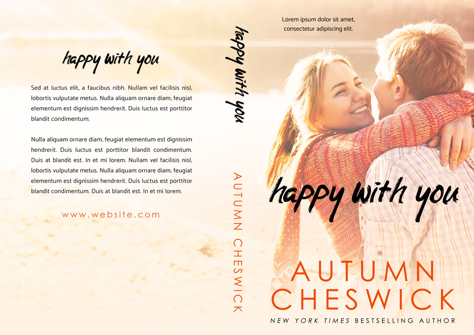 Happy With You - Young Adult Romance Premade Book Cover For Sale @ Beetiful Book Covers