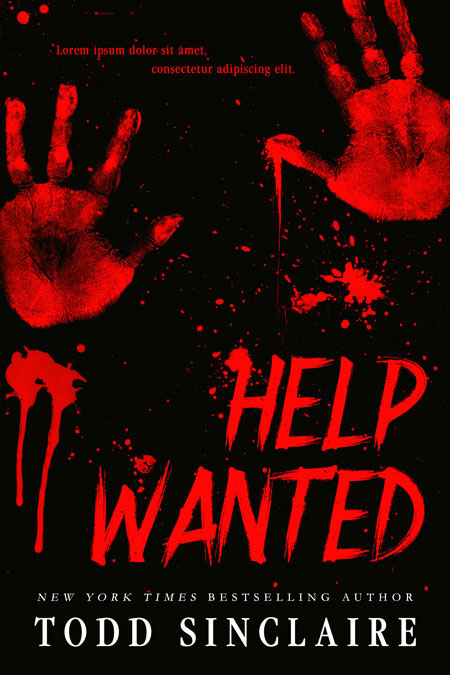 Help Wanted - Horror / Thriller Premade Book Cover For Sale @ Beetiful Book Covers