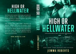 High or Hellwater - Action / Romantic Suspense Premade Book Cover For Sale @ Beetiful Book Covers