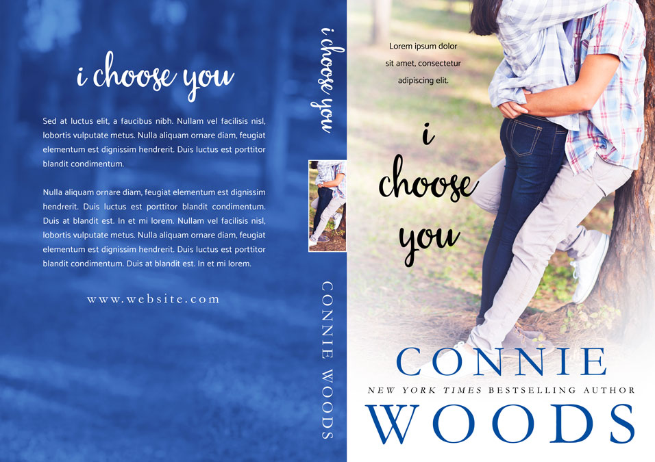 I Choose You - Young Adult Romance Premade Book Cover For Sale @ Beetiful Book Covers