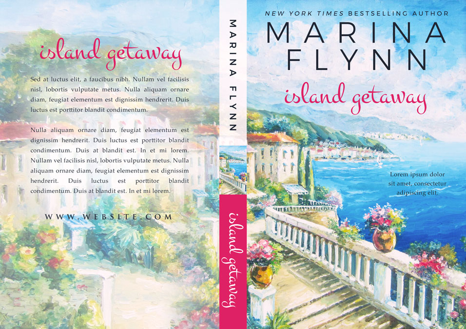 Island Getaway - Women's Fiction Premade Book Cover For Sale @ Beetiful Book Covers