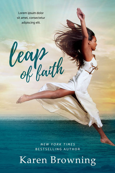 Leap of Faith - African-American Women's Fiction Premade Book Cover For Sale @ Beetiful Book Covers