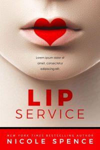 Lip Service - Contemporary Romance Premade Book Cover For Sale @ Beetiful Book Covers
