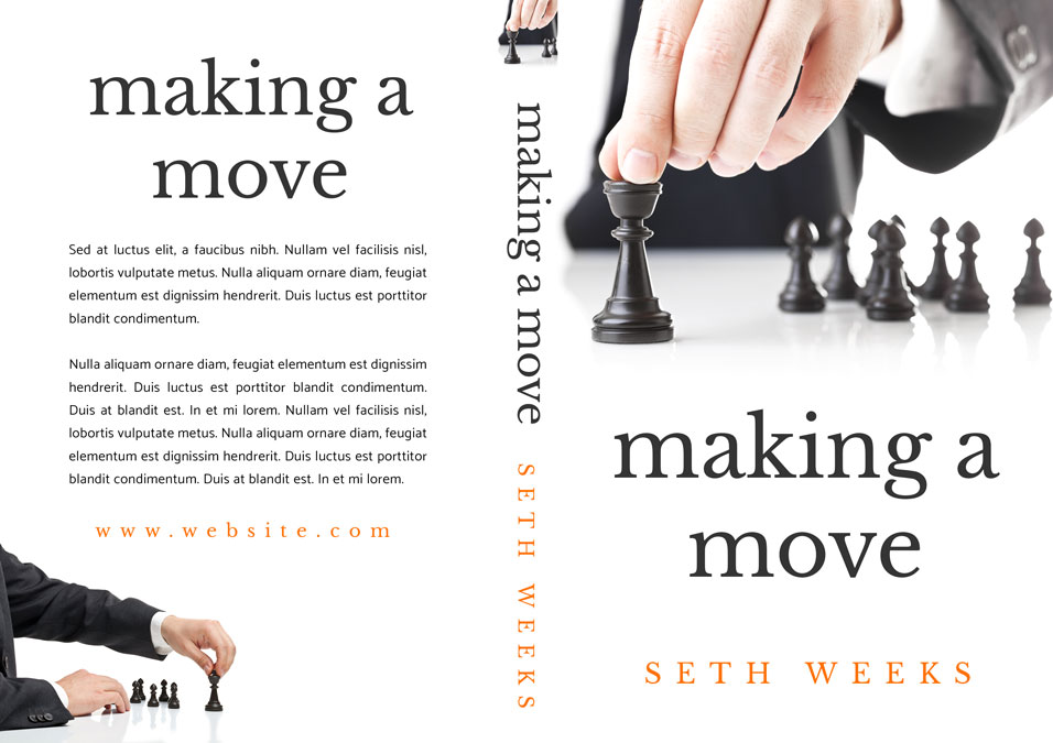 Making a Move - Business Pre-made Book Cover For Sale @ Beetiful Book Covers