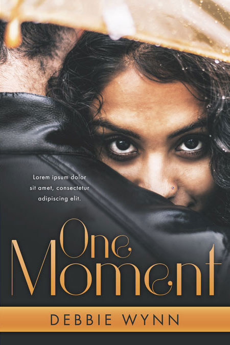 Romance Book Covers For Sale : One moment interracial romance premade book cover for