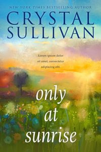 Only at Sunrise - Women's Fiction Premade Book Cover For Sale @ Beetiful Book Covers