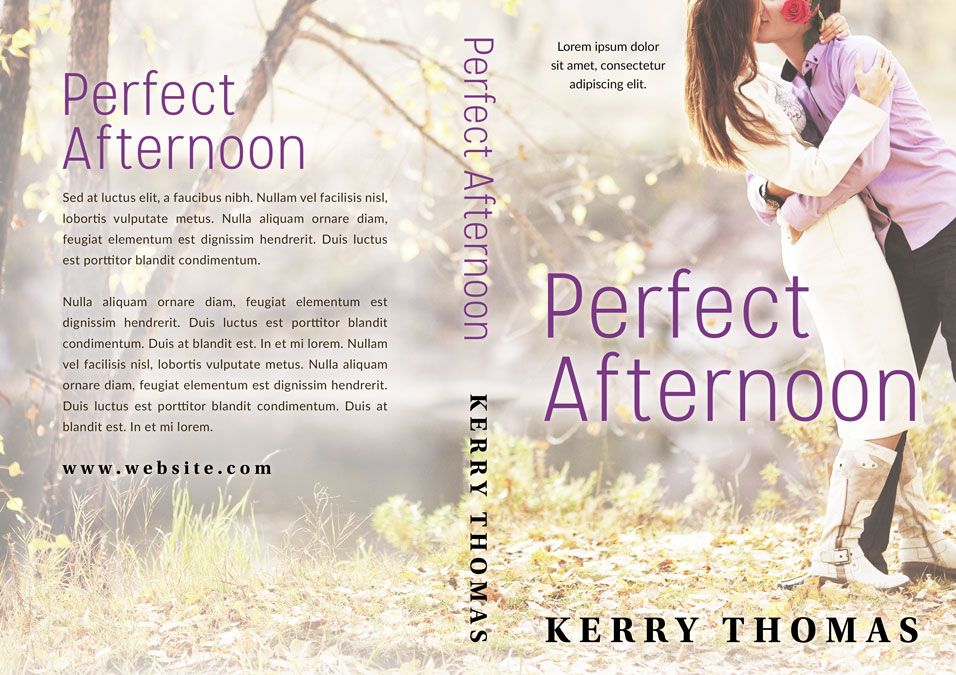 Perfect Afternoon - Romance Premade Book Cover For Sale @ Beetiful Book Covers
