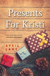 Presents For Kristi - Christmas Premade Book Cover For Sale @ Beetiful Book Covers