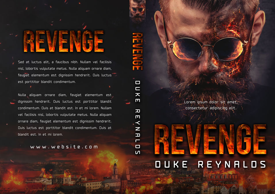 Revenge - Action / Suspense Premade Book Cover For Sale @ Beetiful Book Covers