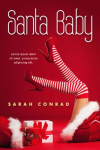 Santa Baby - Christmas Romance Premade Book Cover For Sale @ Beetiful Book Covers