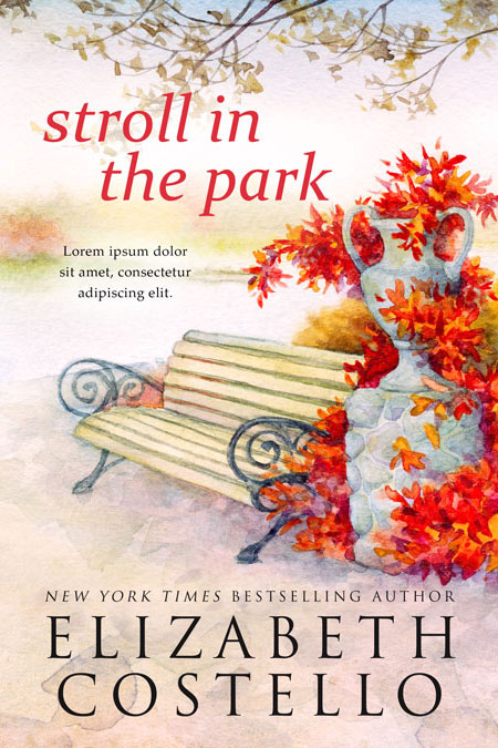 Stroll in the Park - Women's Fiction Premade Book Cover For Sale @ Beetiful Book Covers