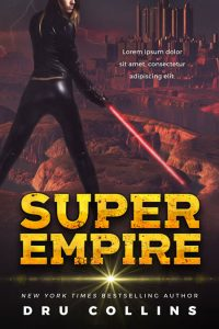 Super Empire - Science Fiction Premade Book Cover For Sale @ Beetiful Book Covers