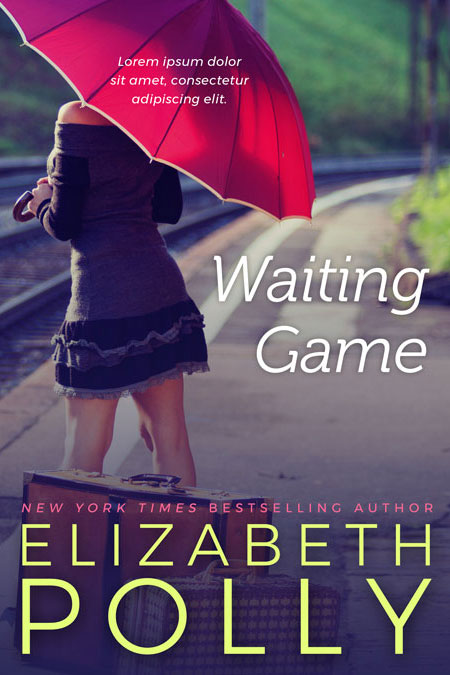 Contemporary Romance Book Covers ~ Waiting game contemporary romance premade book cover for