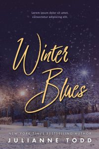 Winter Blues - Winter Fiction Premade Book Cover For Sale @ Beetiful Book Covers