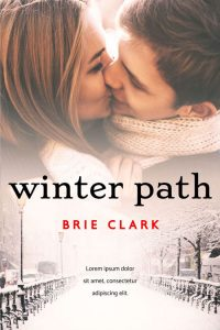 Winter Path - Young Adult Winter Romance Premade Book Cover For Sale @ Beetiful Book Covers
