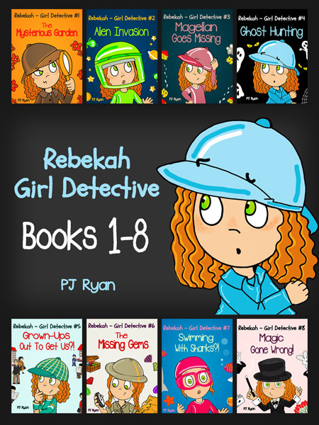 Rebekah - Girl Detective Books 1-8 by PJ Ryan