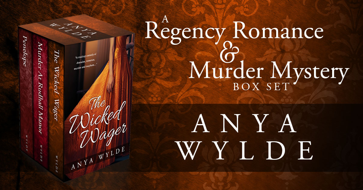 Showcase Spotlight: A Regency Romance and Murder Mystery Box Set by Anya Wylde