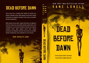 Dead Before Dawn - Horror / Thriller Premade Book Cover For Sale @ Beetiful Book Covers