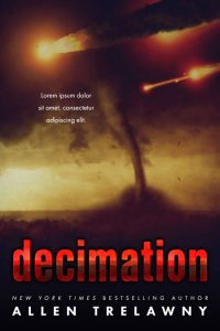 Decimation - Science-Fiction Premade Book Cover For Sale @ Beetiful Book Covers