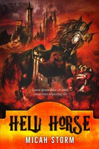 Hell Horse - Fantasy Premade Book Cover For Sale @ Beetiful Book Covers
