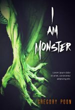 I Am Monster – Horror / Fantasy Premade Book Cover For Sale @ Beetiful Book Covers