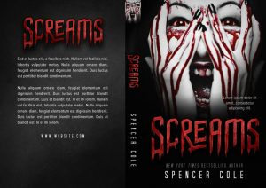 Screams - Horror Premade Book Cover For Sale @ Beetiful Book Covers