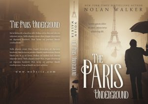 The Paris Underground - Mystery Premade Book Cover For Sale @ Beetiful Book Covers