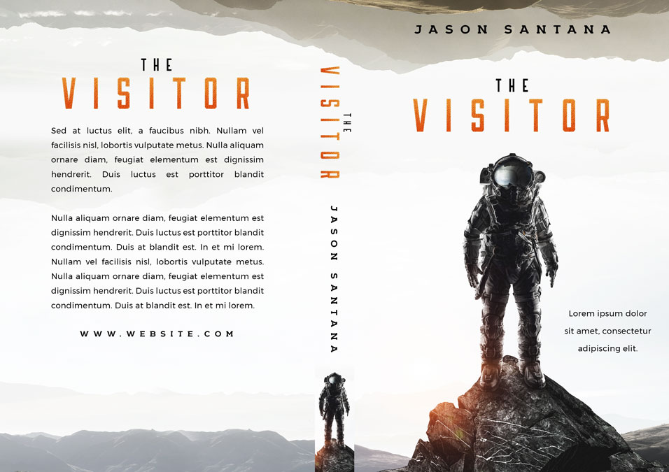 The Visitor - Science Fiction Premade Book Cover For Sale @ Beetiful Book Covers