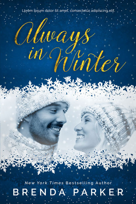 Always In Winter - Winter Romance Premade Book Cover For Sale @ Beetiful Book Covers