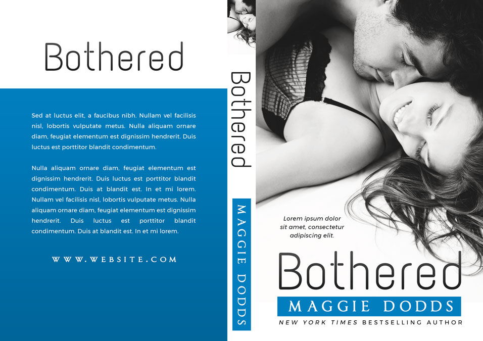 Bothered - Steamy Romance Premade Book Cover For Sale @ Beetiful Book Covers