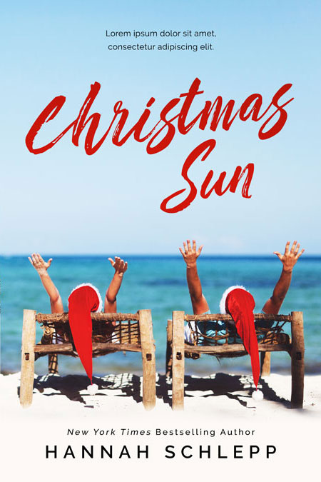 Christmas Sun - Christmas Romance Premade Book Cover For Sale @ Beetiful Book Covers