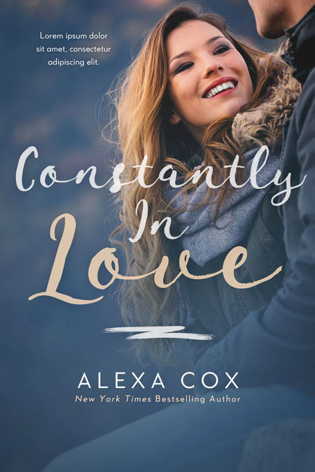 Constantly In Love - Winter Romance Premade Book Cover For Sale @ Beetiful Book Covers
