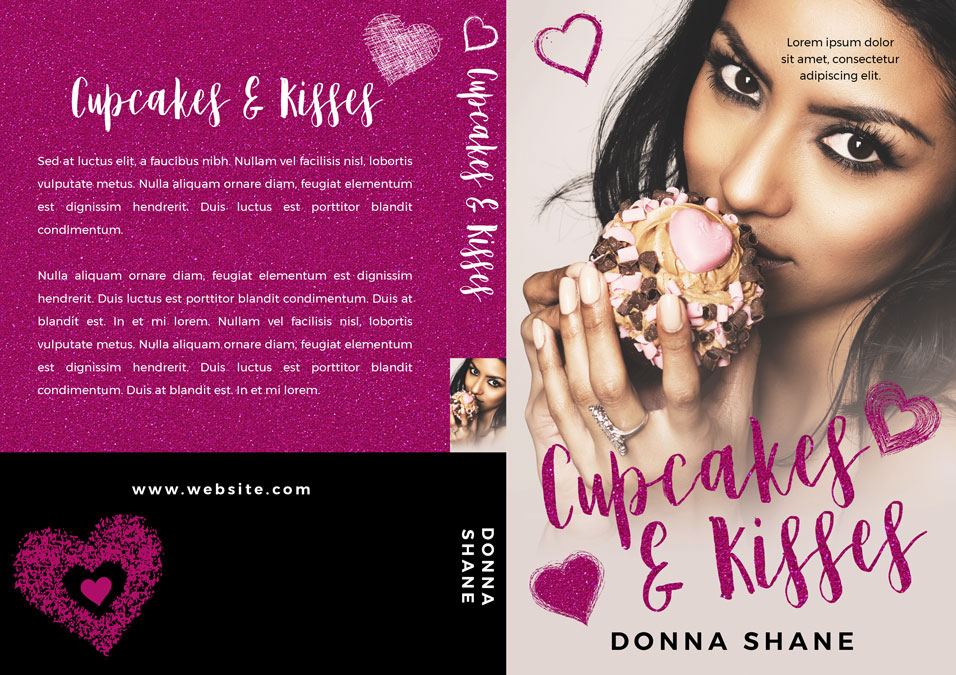 Cupcakes and Kisses - South Asian Chicklit Premade Book Cover For Sale @ Beetiful Book Covers