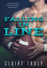 Falling In Line – Sports Romance Premade Book Cover For Sale @ Beetiful Book Covers