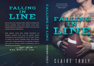 Falling In Line - Sports Romance Premade Book Cover For Sale @ Beetiful Book Covers