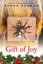 Gift of Joy – Christmas Women's Fiction Premade Book Cover For Sale @ Beetiful Book Covers