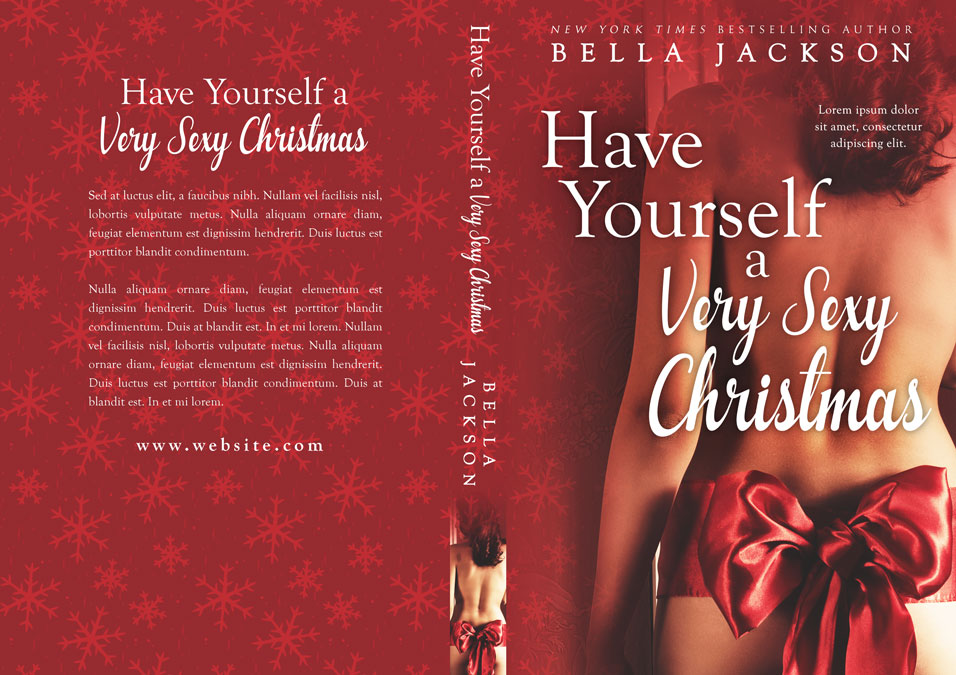 Have Yourself a Very Sexy Christmas - Christmas Premade Book Cover For Sale @ Beetiful Book Covers
