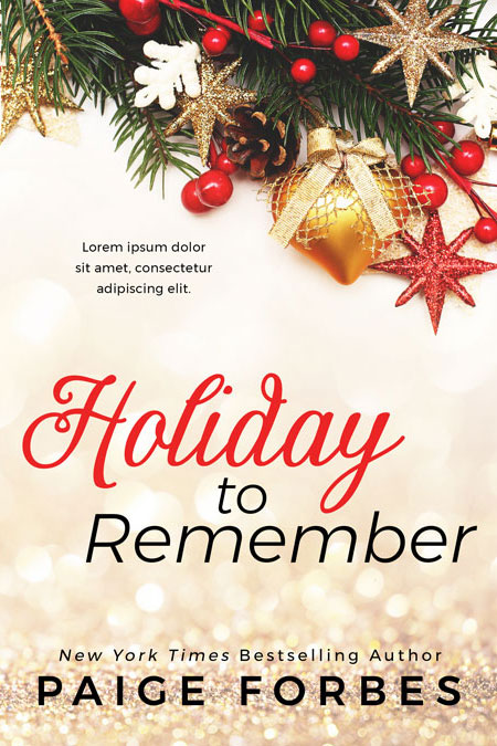 Holiday to Remember - Christmas Premade Book Cover For Sale @ Beetiful Book Covers