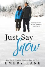 Just Say Snow – Winter African-American Romance Premade Book Cover For Sale @ Beetiful Book Covers