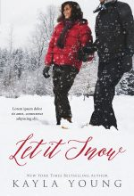 Let It Snow – Winter African-American Romance Premade Book Cover For Sale @ Beetiful Book Covers