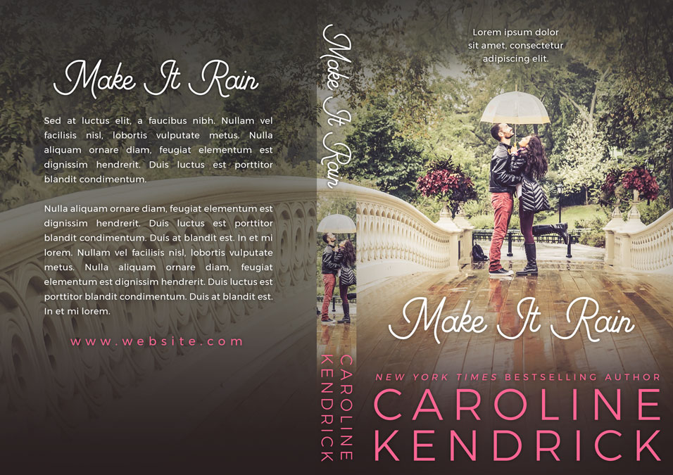 Make It Rain - Young Adult Romance Premade Book Cover For Sale @ Beetiful Book Covers