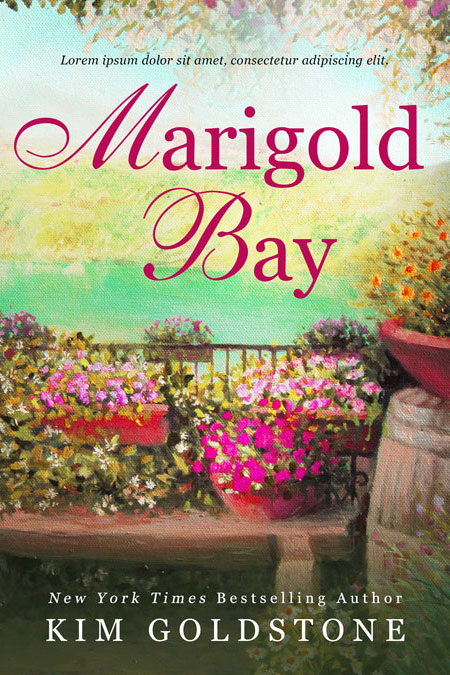 Marigold Bay - Women's Fiction / Romance Premade Book Cover For Sale @ Beetiful Book Covers