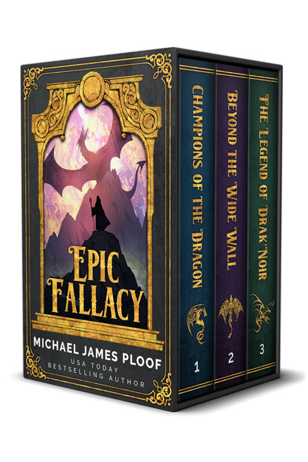 Epic Fallacy 1-3 by Michael James Ploof