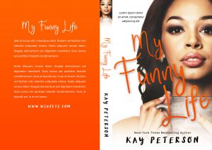 My Funny Life - African-American Chicklit Premade Book Cover For Sale @ Beetiful Book Covers