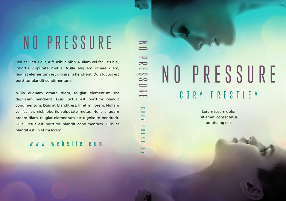 No Pressure - Young Adult Science-fiction Premade Book Cover For Sale @ Beetiful Book Covers
