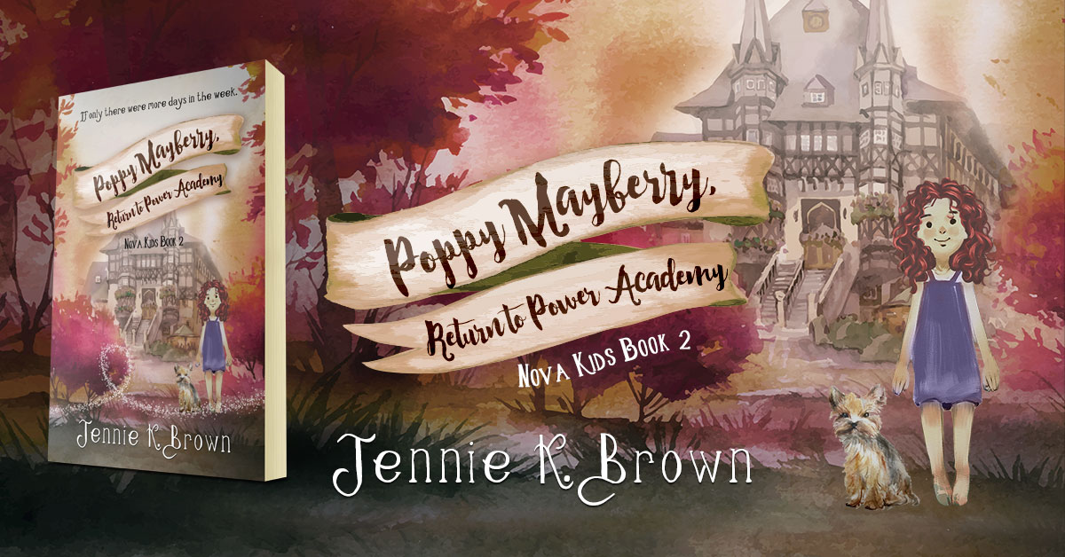 Showcase Spotlight: Poppy Mayberry: Return to Power Academy by Jennie K. Brown
